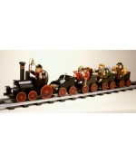 TEMPORARILY OUT OF STOCK - KWO Smokerman Black Passenger Wagon