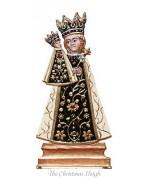 Madonna von Altötting Special Standing Pewter Wilhelm Schweizer