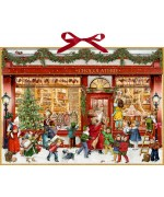 Coppenrath German Paper Advent Calendar Chocolate Shop