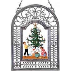 December Window Wall Hanging Wilhelm Schweizer