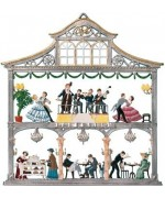 Vienna Cafe House Window Wall Hanging Wilhelm Schweizer
