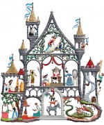 Fairytale Castle Window Wall Hanging Wilhelm Schweizer