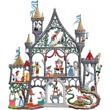 Fairytale Castle Window Wall Hanging Wilhelm Schweizer