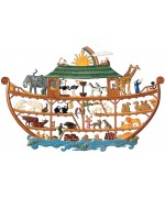 Noah's Ark Window Wall Hanging Wilhelm Schweizer