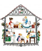 Children's House Window Wall Hanging Wilhelm Schweizer