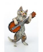 Vienna Bronze Banjo Cat