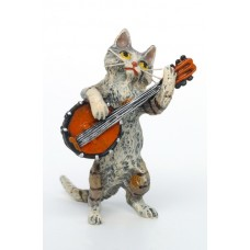 Vienna Bronze Banjo Cat