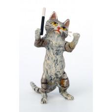 Vienna Bronze Conductor Cat
