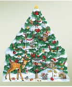 TEMPORARILY OUT OF STOCK - Byers Choice Advent Calendar Snow Tree