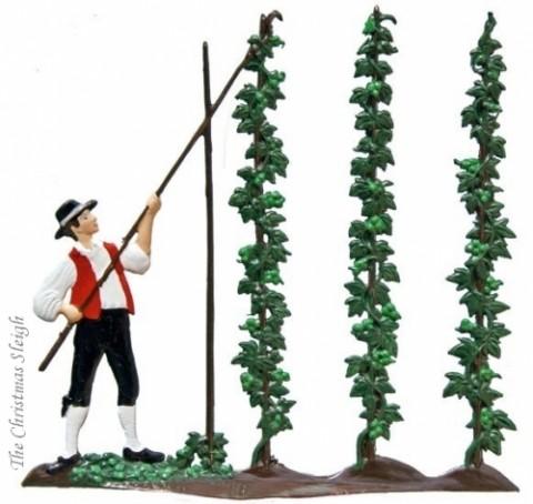 The Harvesting of the Hops Harvest of Hops Standing Pewter Wilhelm Schweizer