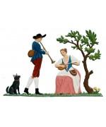 Baroque Shepherd Couple