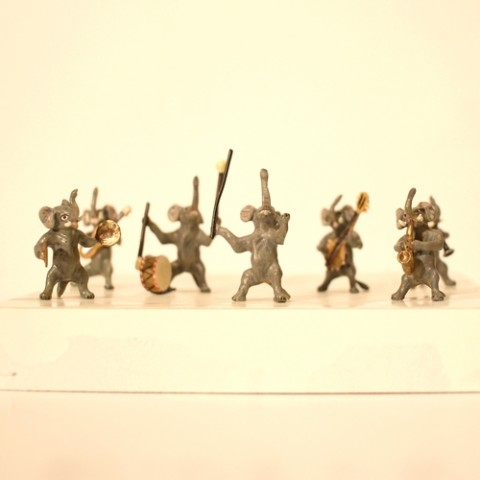 TEMPORARILY OUT OF STOCK - Vienna Bronze Elephant Orchestra