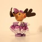 Rudolph's Daughter Wooden Ornament Christian Steinbach