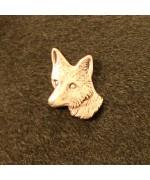 German Hatpin Fox Head