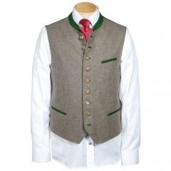 German Men's Vest Grasegger Green