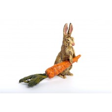 TEMPORARILY OUT OF STOCK - Vienna Bronze Rabbit with Carrot