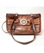 TEMPORARILY OUT OF STOCK Leather Handbag - MD