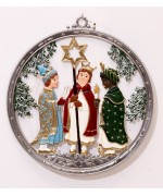 Three Wise Men Window Wall Hanging  Wilhelm Schweizer