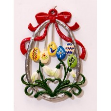 Easter Eggs  Easter Oster Pewter  Wilhelm Schweizer Pewter