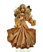 TEMPORARILY OUT OF STOCK - Nuernberger Wax Angel by Eggl of Bavaria with Harp