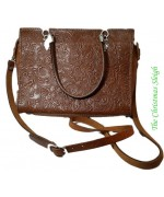 Sima Gurtel Stamped Leather Purse - MD