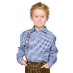 Stockerpoint Children's Plaid Shirt