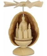 Walnut Shell Frauenkirche Pyramide