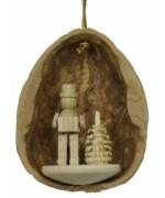 Walnut Shell Hanging Akkordionspieler