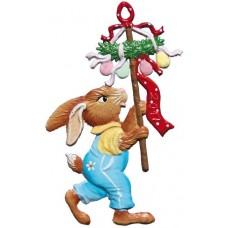 Wilhelm Schweizer Easter Oster Pewter 2017 Bunny Ornament