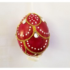 TEMPORARILY OUT OF STOCK - Peter Priess of Salzburg Hand Painted Egg CHRISTMAS