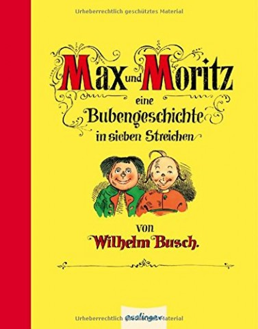 TEMPORARILY OUT OF STOCK - Max und Moritz Mini