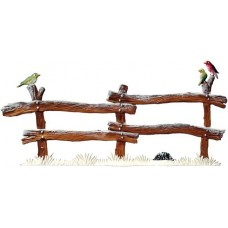 TEMPORARILY OUT OF STOCK - Wilhelm Schweizer Christmas Pewter Winter Fence