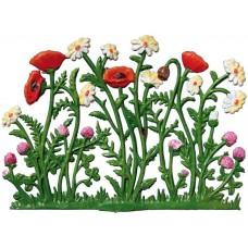 Wilhem Schweizer  Easter Oster Pewter Poppy Flowers Margaritenfeld