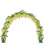 NEW - Flower Arch Wilhelm Schweizer Standing Pewter