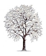 NEW - Wilhelm Schweizer Christmas Pewter Winter Tree
