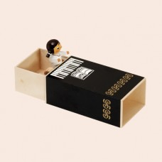 NEW - Wolfgang Werner Girl in Piano Music Box