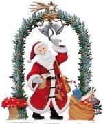 Jahresnikolaus 2015 Wilhelm Schweizer Christmas Pewter
