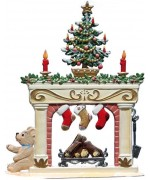 Wilhelm Schweizer Christmas Pewter Fireplace