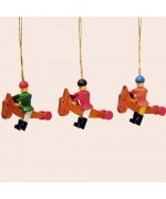 TEMPORARILY OUT OF STOCK - Wolfgang Werner Ornament Hobby Horse