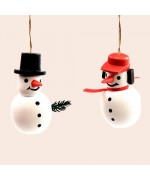 TEMPORARILY OUT OF STOCK - Wolfgang Werner Ornament Snowman