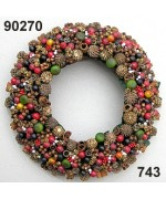 TEMPORARILY OUT OF STOCK Rasp Spiced Berry Wreath