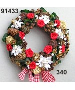 TEMPORARILY OUT OF STOCK Rasp Spiced Edelweiss Wreath