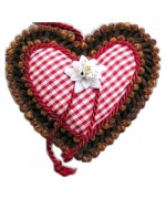 NEW - Rasp Spiced Edelweiss Heart