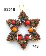 NEW - Rasp Spiced Star Ornament