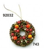 NEW - Rasp Spiced Fruit Wreath