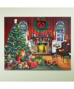 TEMPORARILY OUT OF STOCK - Byers Choice Advent Calendar Christmas Fireside