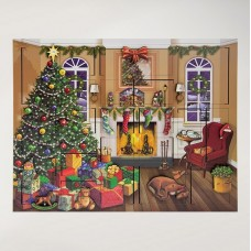 Byers Choice Advent Calendar Christmas Fireside