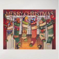 Byers Choice Advent Calendar Stockings