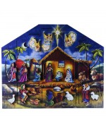 NEW - Byers Choice Musical Advent Calendar Nativity
