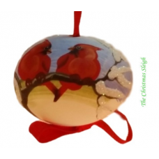 TEMPORARILY OUT OF STOCK Peter Priess of Salzburg Hand Painted Egg CHRISTMAS
